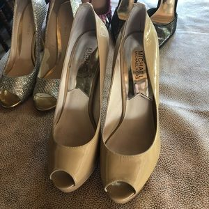 MICHAEL Michael Kors Shoes - MICHAEL Michael Kors Beige Pumps